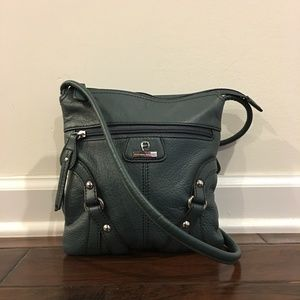 NWOT - Etienne Aigner Leather Crossbody Handbag
